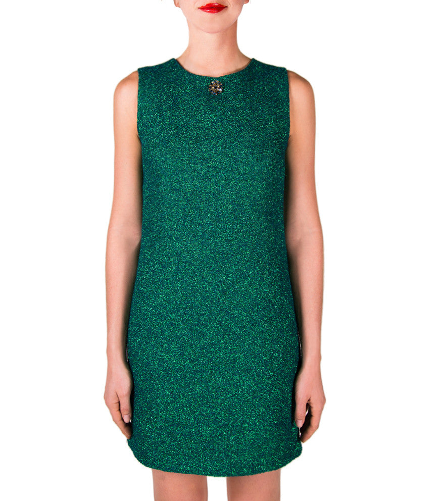 wool sleeveless dress