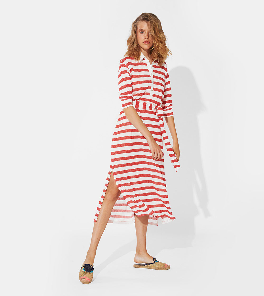 LIGHT STRIPED DRESS