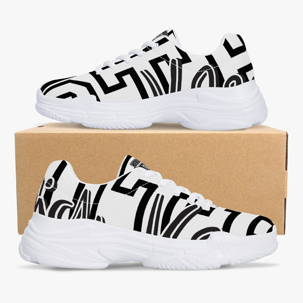 Chunky Signature Sneakers - White/Black