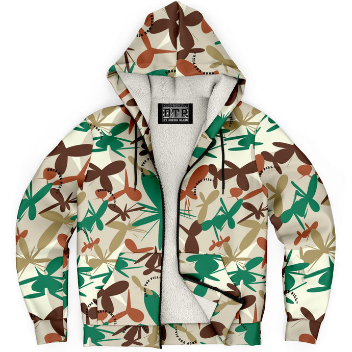 Play Camouflage Zip-Up Hoodie