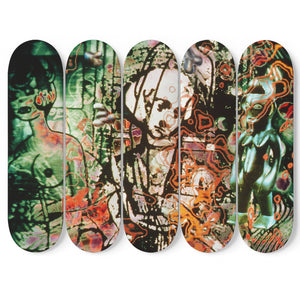 """The Match Maker"" by Micha Klein  Skateboards"