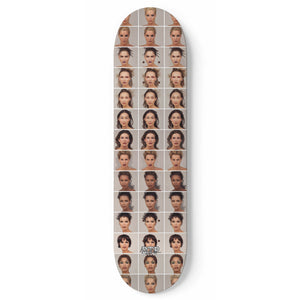 """Artificial Beauty Morph Grid 2""  Skateboard"