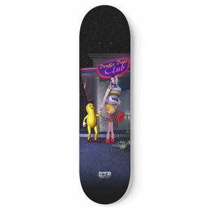 """Double Date Club"" Skateboard"