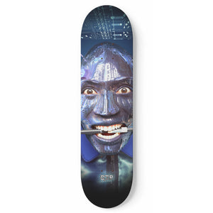 """Paintbox Cyborg"" Skateboard"