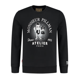 BLACK ATELIER PILLMAN CREW NECK