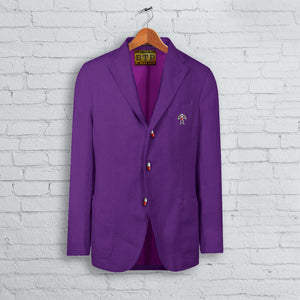 Purple DTP Summer Blazer