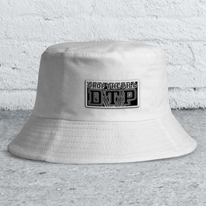 White Logo Bucket Hat