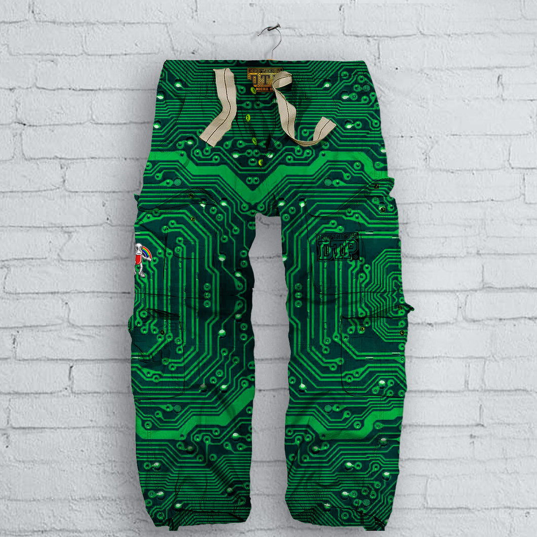 Circuit Board Cargo Pants