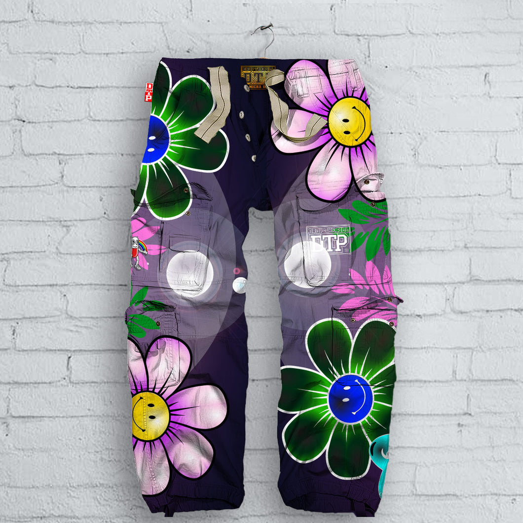 Love, Peace &  Happiness  Pants