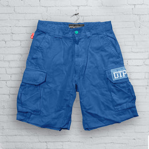 Blue DTP Cargo Shorts