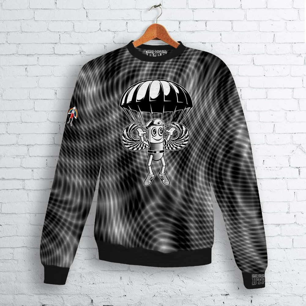 Moire Para Trooper Pillman Crew Neck