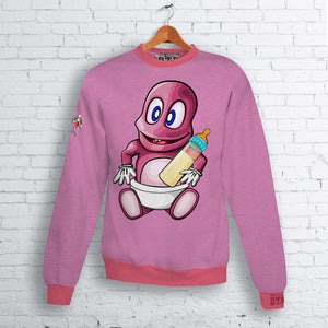 No Mickey Mouse Baby Bubby Crew Neck