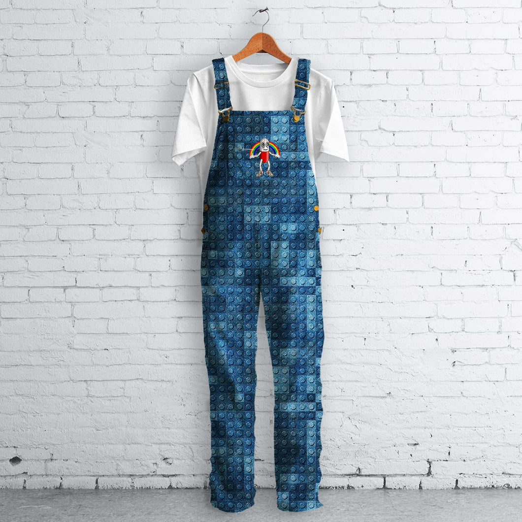 Blue Jeans Lego Pattern Dungies