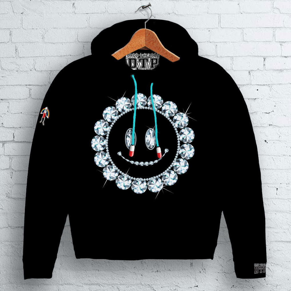 Diamond Smiley Hoodie