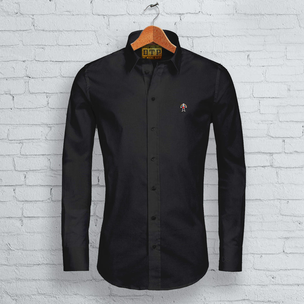 Black DTP Long Sleeved Shirt