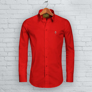 Red DTP Long Sleeved Shirt