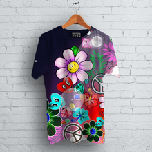 Load image into Gallery viewer, Love, Peace &  Happiness T-Shirt