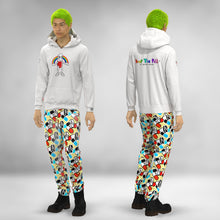 Load image into Gallery viewer, WHITE RAINBOW PILLMAN  HOODIE