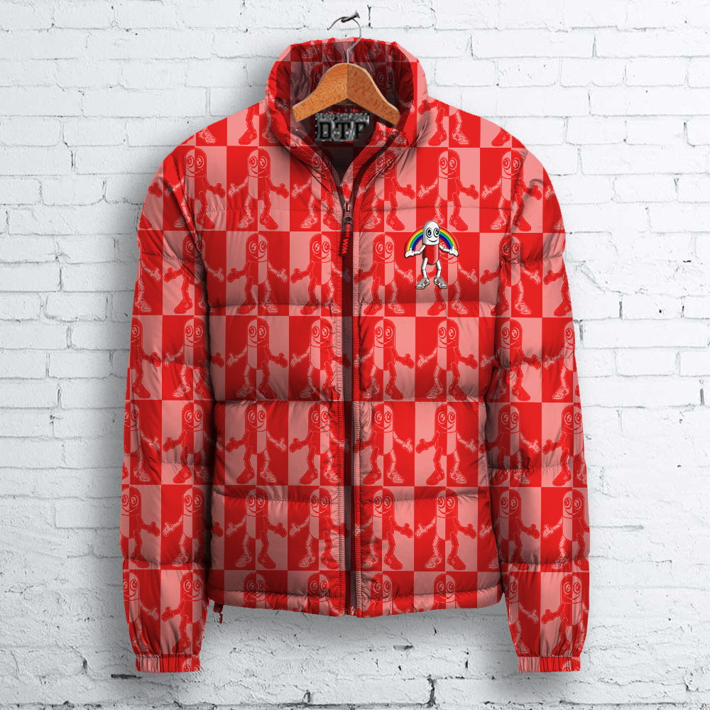 Red Pill Puffa Jacket