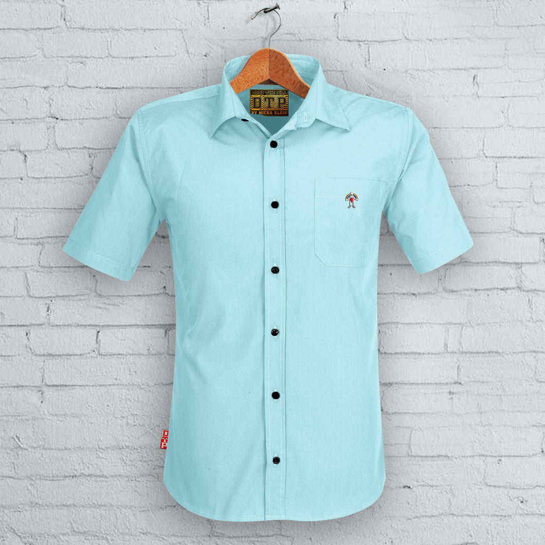 Light Blue DTP Short Sleeved Shirt