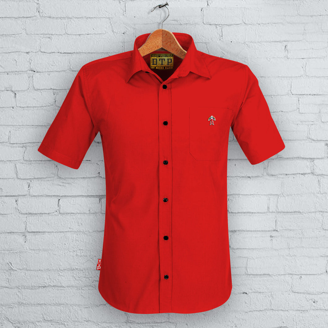 Red DTP Short Sleeved Shirt