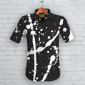 D.T.P. Splatter Short Sleeved Shirt