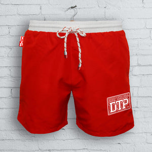 Red DTP Board Shorts