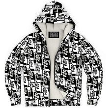Load image into Gallery viewer, DTP Monogram Zip-Up Hoodie