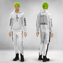 Load image into Gallery viewer, NEW: WHITE BAUHAUS PILLMAN  PRINTED HOODIE