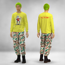 Load image into Gallery viewer, YELLOW PILLMOUSE CREWNECK SWEATSHIRT