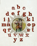 Victorian Alphabet Books: 100s of Images