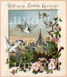 Easter Angels & Religious Cards Download Pack - Lunagirl