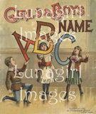 Victorian Alphabet Books  -- CD or Download - Lunagirl