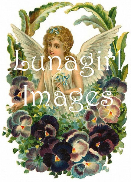 Vintage Images Of Victorian Angels Victorian Fairies
