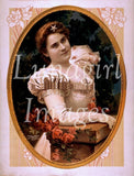 Victorian Edwardian Vintage Ladies Photos Volume #2: 1000 Images - Lunagirl