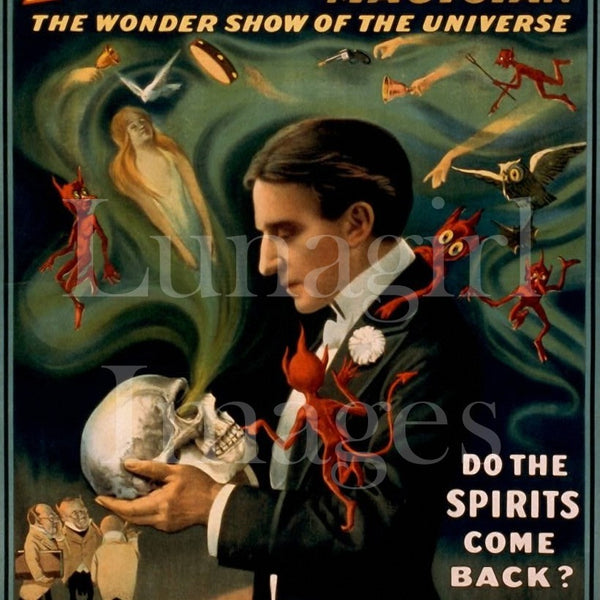 Vintage Theater Posters: Magicians Novelties & Musicians: 400 Images