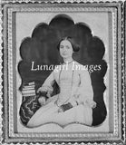 victorian woman photograph antique framed gothic photograph
