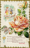 40 Yellow Peach White Vintage Roses Download Pack - Lunagirl
