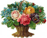 57 Victorian Images of Mixed Flower Bouquets Download Pack - Lunagirl