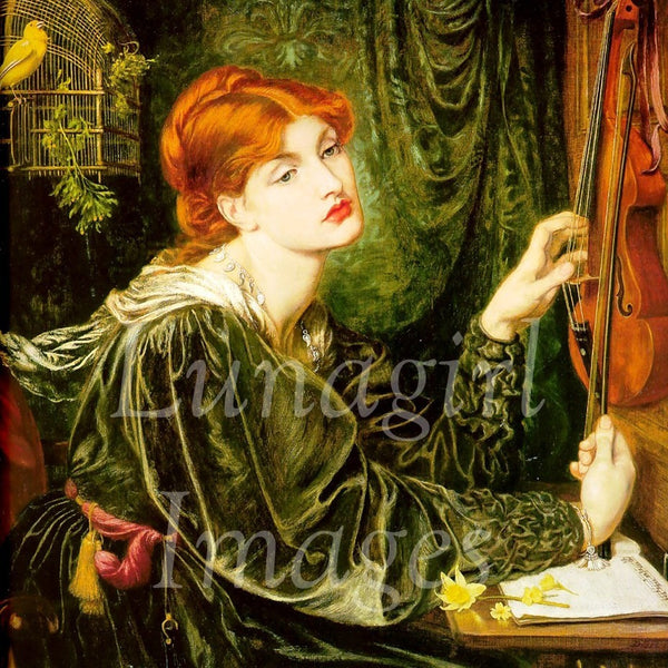 Vintage Paintings Of Women PreRaphaelite painting...