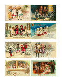 100 Victorian Christmas Children #1 Download Pack - Lunagirl