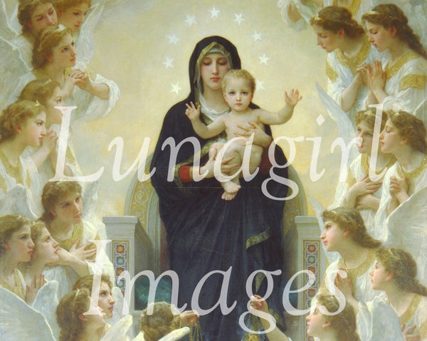 Paintings of William Bouguereau: 200 Images