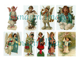 102 Vintage Victorian Angels Download Pack - Lunagirl