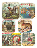 148 Animals Vintage Cigar Labels Download Pack - Lunagirl