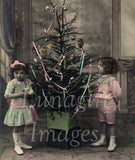 Christmas New Years Photos Postcards -- CD or Download! - Lunagirl