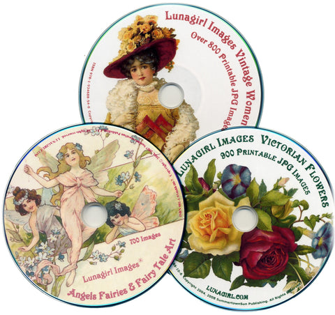 Victorian Images 3-CD Set #1 Special Price - Lunagirl