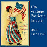 106 Vintage Patriotic Images Download Pack - Lunagirl