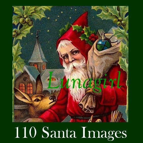 Victorian Christmas Vintage Images Download Santa Claus
