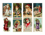 110 Victorian Santa Claus Images Download Pack - Lunagirl