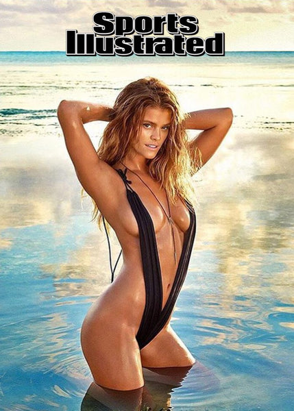 Nina Agdal Sports Illustrated 2016 Women's Swimwear Monokini